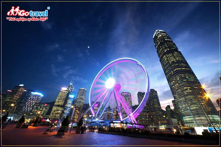 cảnh Hong Kong về đêm