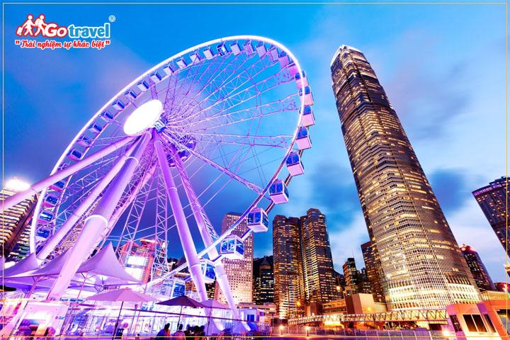 Mùa thu là thời điểm thích hợp để đi du lịch Hong Kong